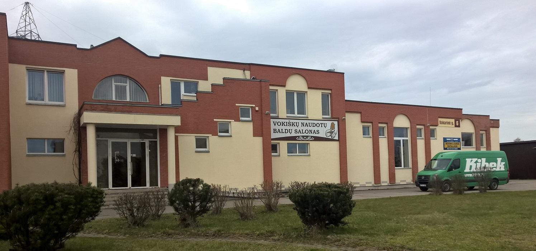 Naujų ir naudotų vokiškų baldų salonas Panevėžyje